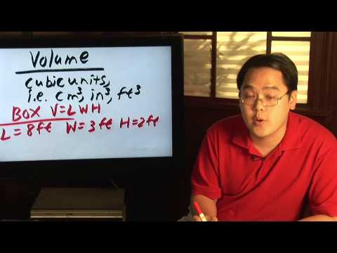 Geometry Tips : How to Find Volume in Cubic Feet