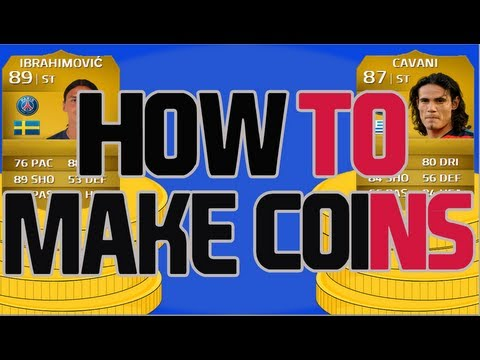 Fifa 14 Ultimate Team - How To Make Coins #8 - Fun And Profitable Method!
