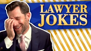 Real Lawyer Reacts to LAWYER JOKES // LegalEagle