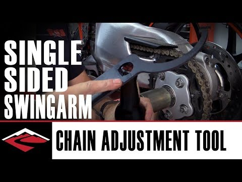 Motorcycle Single Sided Swingarm Chain Adjustment Tool | DS Sales Tool #40 Review
