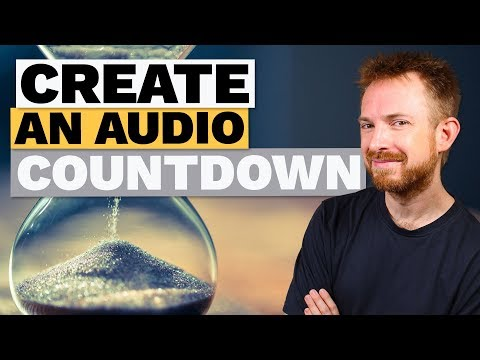 How to Create an Audio Countdown in Adobe Audition