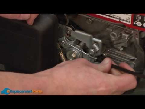 How to Replace the Throttle Cable on a Honda HRX217 Lawn Mower (Part # 17910-VH7-000)
