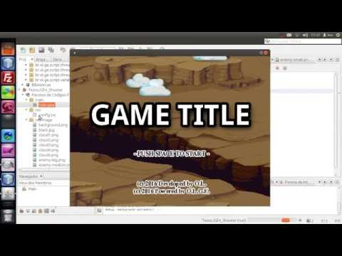 Java 2D Game Engine from scratch - Twin bee like game demo test #1