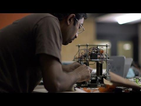 Stanford students build autonomous robots for 'Botcoin Bonanza'