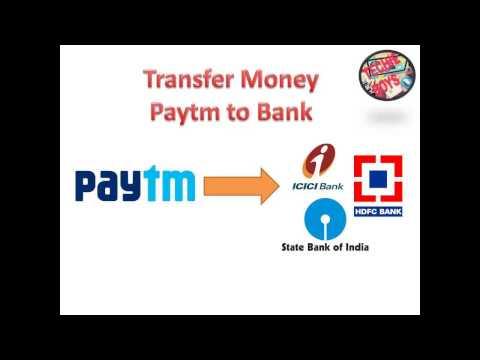 Transfer Money Bank to Paytm