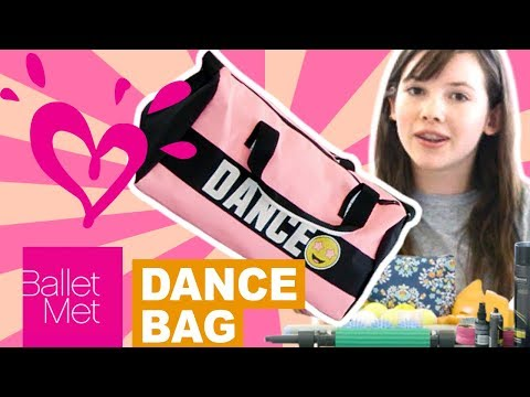 WHAT'S IN MY DANCE BAG? 💗 JUSTICE