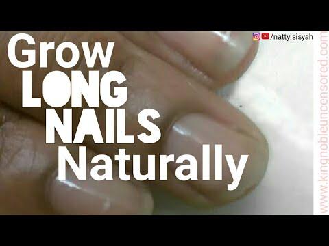 How I'm Growing Long Natural Nails