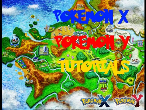 Pokemon X/Y Tutorials: #1 How to get Hidden Power & check what Hidden Power type your Pokemon has