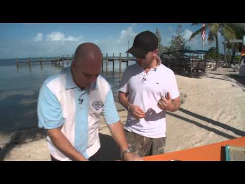 How to make Lobster Tempura Tacos - Florida Keys style