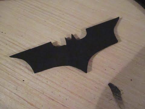 DIY Batarang UNEXPECTEDLY DEADLY