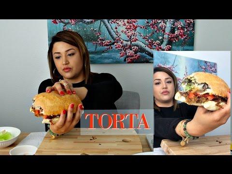 TORTA MUKBANG | RECIPE MEXICAN FOOD SANDWICH