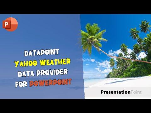 DataPoint Yahoo Weather Data Provider