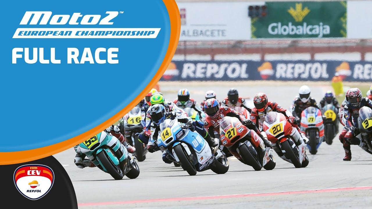 Full Race | Albacete  2017 | Moto2 | FIM CEV Repsol