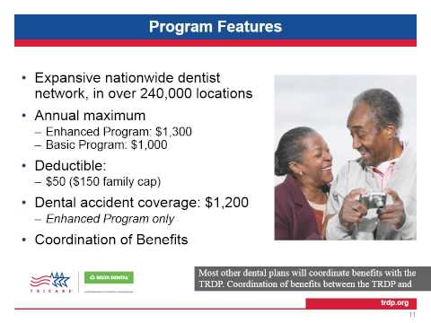 TRICARE Retiree Dental Program Training