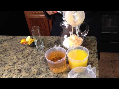 Creamsicle Milk Punch Recipe