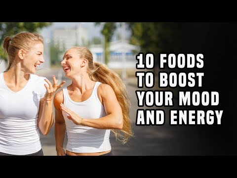 10 Foods To Boost Your Mood And Energy