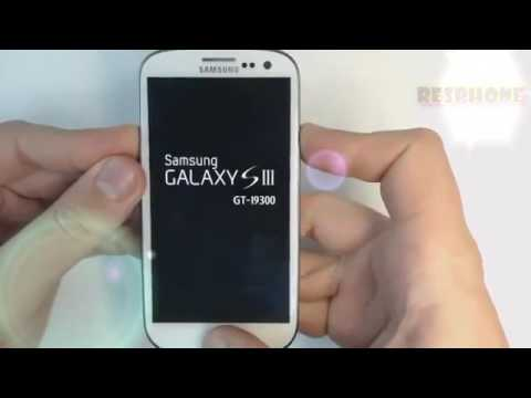 Samsung Galaxy S3 GT I9300 Pattern Unlock