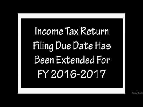 Extended ITR e-Filing Due Date