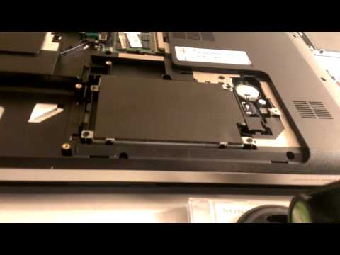 HP dv7-4100 Series Disassembly (Cooling Fan)
