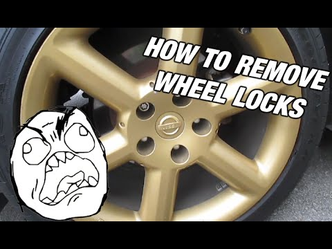 How To Remove A Lock Nut From Any Car/ Lost Key