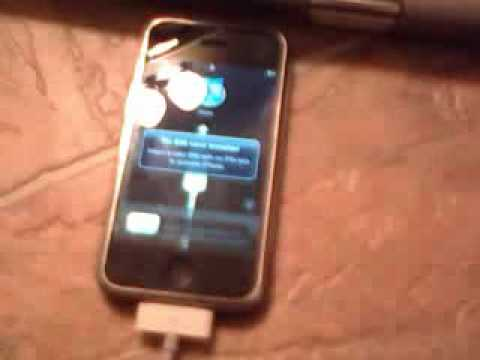 how to activate iPhone 2g without a sim card