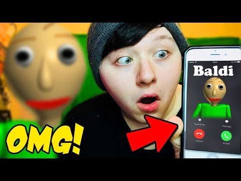 DON'T CALL BALDI'S BASIC EDUCATION! *SCARY!! HE CAME TO MY HOUSE*
