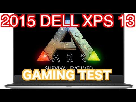 DELL XPS 13 - Ark Survival Evolved - GAMING TEST