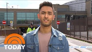 manchester bombing witness it sounded like a gunshot today