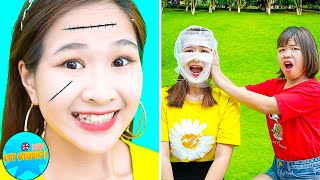 CRAZY & FUNNY PRANKS ON FRIENDS and FAMILY! Funny DIY Prank Wars & Funny Situations