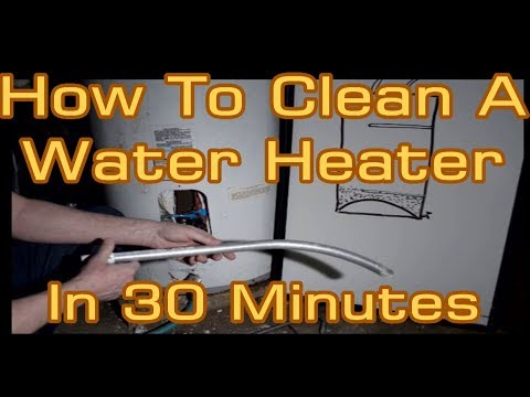 How to Clean Limescale Sediment Out Of A Water Heater Tank In 30 Minutes