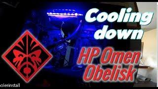 Installing CPU AIO cooler for HP Omen Obelisk - PakVim net