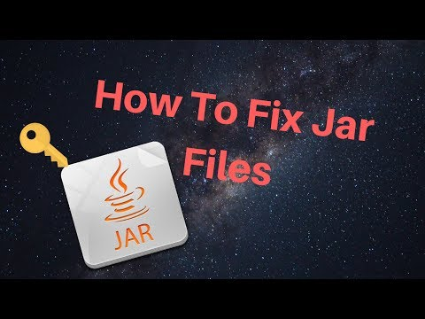 How To Fix Jar Files (Tutorial)