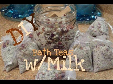 DIY Bath Teas |HOW TO MAKE BATH TEA BAGS!