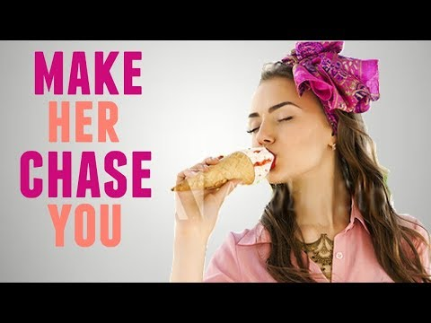 How to Get a GIRL to CHASE YOU | The Ice Cream Method