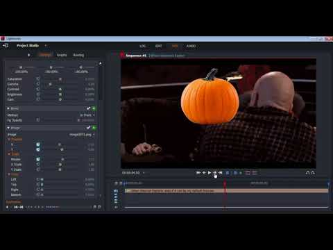 (NEW) How to put an image ( Censor Objects/Faces ) in a video - Lightworks Keying Tutorial