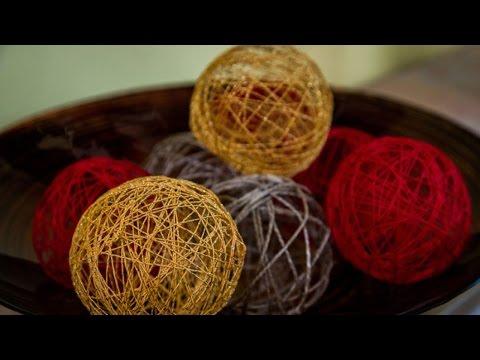 Paige Hemmis' DIY Decorative Twine Spheres
