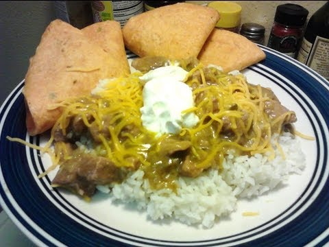 Chile Verde Recipe with Pork - PoorMansGourmet