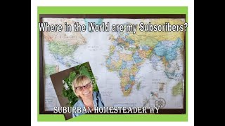 Where in the World are my Subscribers??