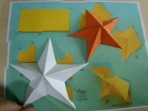 Five Point Paper Star Relief  highhopes no. 1
