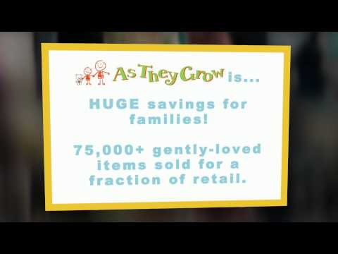 As They Grow Kids Consigment Sale of Las Vegas 2015