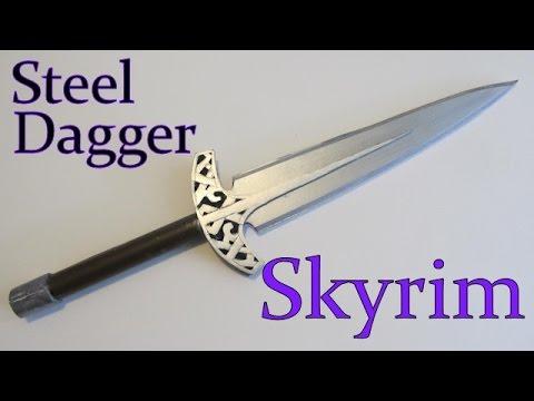 Make the Steel Dagger from Skyrim