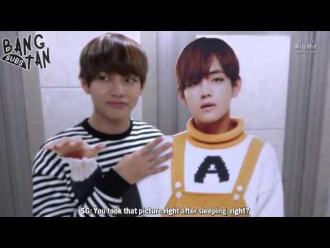 [ENG] 160122 [Announcement] BTS The Manual(BTS Standee user manual)