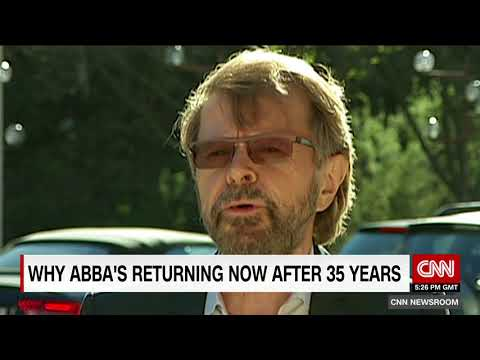 Abba is making a comeback after more than 30 years~!