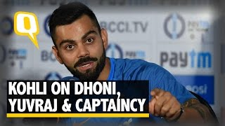 The Quint: Virat Kohli on MS Dhoni's Priceless Presence, Yuvraj Singh & More