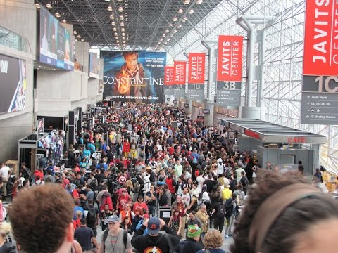 Celebrities, Cosplay, & Collectibles from New York Comic Con 2014