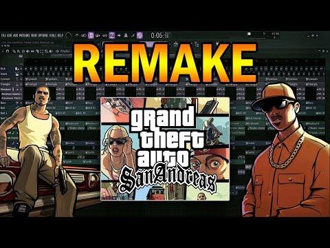 GTA San Andreas Theme [FL STUDIO REMAKE + DESCARGA]