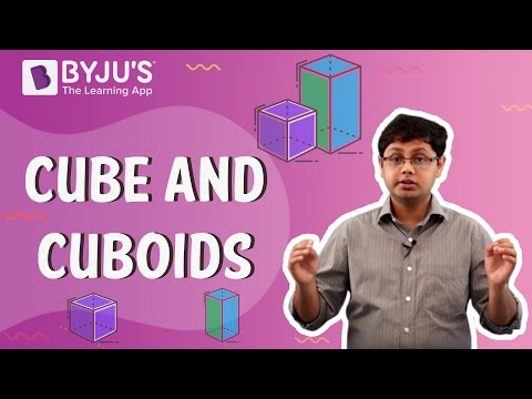 Class 4 & 5 - Cube and Cuboids