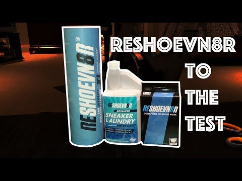 Testing Out Reshoevn8r (Shoe Cleaner)