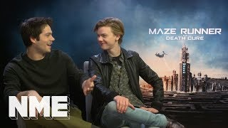 Maze Runner: The Death Cure - SPOILERS - Dylan O'Brien and Thomas Brodie-Sangster