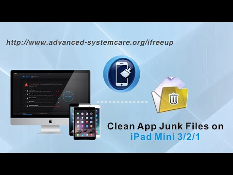 How to Clean App Junk Files on iPad Mini 4/3/2/1 to Speed Up Your iPad Mini by iFreeUp